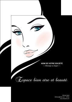 imprimer flyers institut de beaute beaute salon de beaute institut de beaute MLGI20842