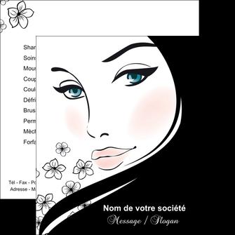 creation graphique en ligne flyers institut de beaute beaute salon de beaute institut de beaute MLGI20850