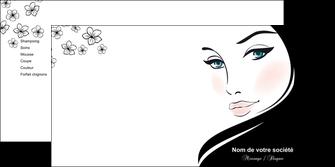 personnaliser modele de depliant 2 volets  4 pages  institut de beaute beaute salon de beaute institut de beaute MLGI20852