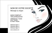 faire modele a imprimer carte de visite salon de coiffure beaute salon de beaute institut de beaute MLGI20856