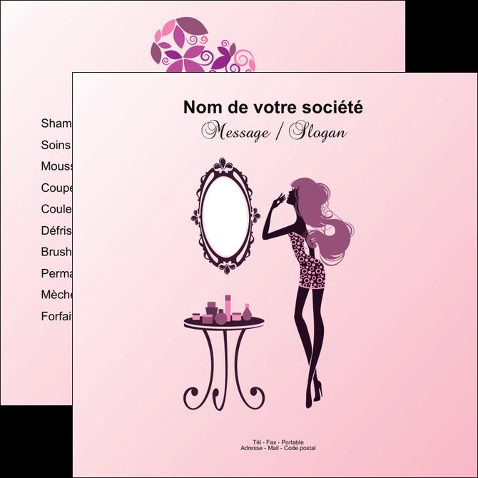 Flyers Mod 232 Le Et Exemple Beaut 233 Salon De Beaut 233 Institut