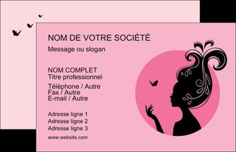 realiser carte de visite cosmetique coiffure coiffeur coiffeuse MLGI21162