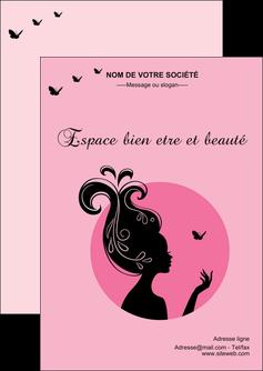 imprimer flyers cosmetique coiffure coiffeur coiffeuse MLGI21164