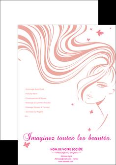 cree flyers institut de beaute coiffure coiffeur coiffeuse MLIG21240