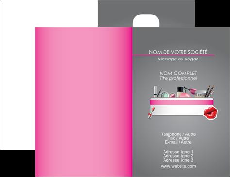Realiser Carte De Visite Cosmetique Beaute Salon Soin MLGI21266