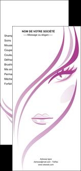 creation graphique en ligne flyers institut de beaute coiffure coiffeuse salon de coiffure MLGI21318
