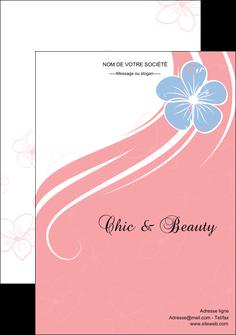 maquette en ligne a personnaliser affiche institut de beaute coiffure coiffeur coiffeuse MLGI21348