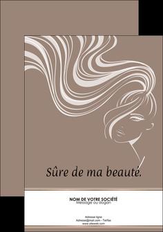 modele flyers institut de beaute beaute coiffure soin MLGI21438