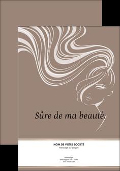 creation graphique en ligne affiche institut de beaute beaute coiffure soin MLGI21448
