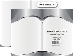 maquette en ligne a personnaliser carte de visite texture contexture design MIF21522