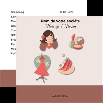creation graphique en ligne flyers cosmetique beaute soins salon de beaute MLGI21858