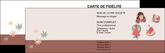 maquette en ligne a personnaliser carte de visite cosmetique beaute soins salon de beaute MLGI21862