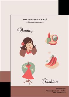 creer modele en ligne flyers cosmetique beaute soins salon de beaute MLGI21866