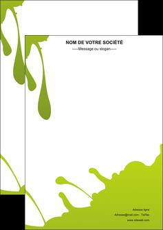 Impression tracts Peinture devis d'imprimeur publicitaire professionnel Flyer A6 - Portrait (10,5x14,8 cm)