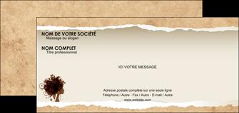 personnaliser modele de carte de correspondance institut de beaute beaute coiffure soin MLGI21954