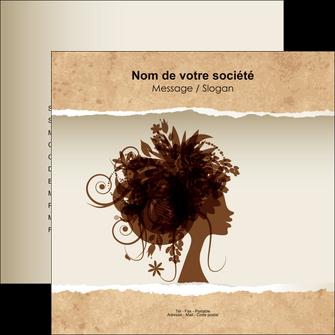 creation graphique en ligne flyers institut de beaute beaute coiffure soin MLGI21956