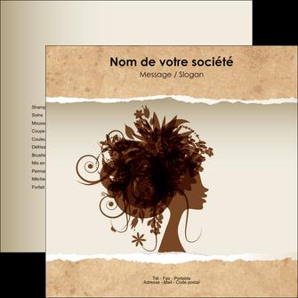 maquette en ligne a personnaliser flyers institut de beaute beaute coiffure soin MLGI21962