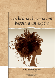 modele en ligne flyers institut de beaute beaute coiffure soin MLGI21966