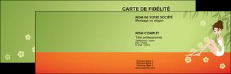 maquette en ligne a personnaliser carte de visite centre esthetique  beaute soins centre de beaute MLGI22056