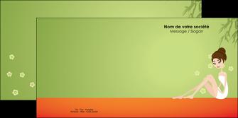maquette en ligne a personnaliser depliant 2 volets  4 pages  centre esthetique  beaute soins centre de beaute MLGI22064