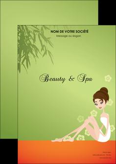 exemple flyers centre esthetique  beaute soins centre de beaute MLGI22066