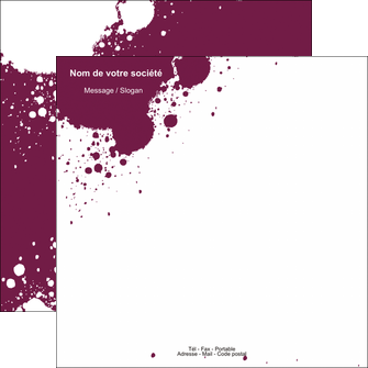 realiser flyers design abstrait artistique MIF22172