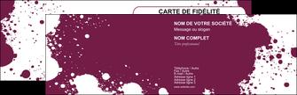 modele carte de visite design abstrait artistique MIF22182