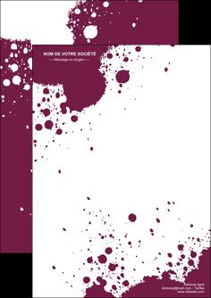 modele en ligne flyers design abstrait artistique MIF22188