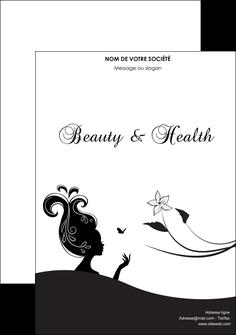 impression flyers institut de beaute beaute soins detente MLGI22238