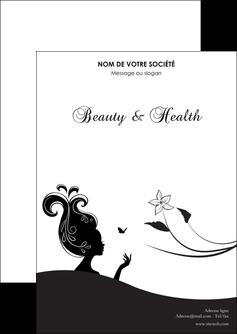 exemple flyers institut de beaute beaute soins detente MLGI22250