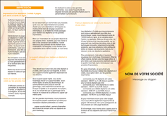 Impression impression depliants 2 plis  devis d'imprimeur publicitaire professionnel Dépliant 6 pages pli accordéon DL - Portrait (10x21cm lorsque fermé)