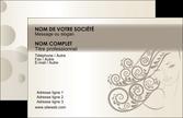 maquette en ligne a personnaliser carte de visite salon de coiffure beaute coiffure soin MLGI22668