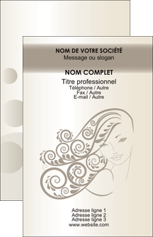 personnaliser maquette carte de visite institut de beaute beaute coiffure soin MLGI22670