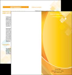 imprimerie depliant 2 volets  4 pages  texture contexture structure MID22774