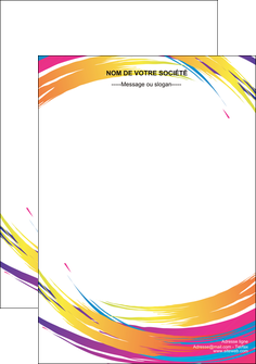 creation graphique en ligne flyers abstrait design texture MIF22850