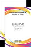 imprimer carte de visite abstrait design texture MLGI22856