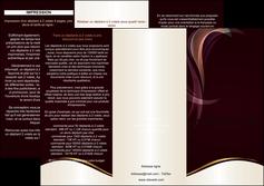impression depliant 3 volets  6 pages  texture contexture abstrait MLIG23112