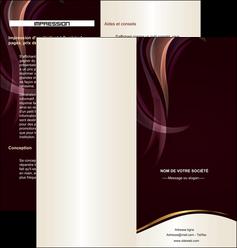 modele depliant 2 volets  4 pages  texture contexture abstrait MLIG23126
