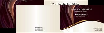 Impression Cartes de visite  Carte commerciale de fidélité devis d'imprimeur publicitaire professionnel Carte de visite Double - Paysage