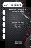 creer modele en ligne carte de visite contexture abstrait acier MLGI23134