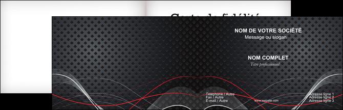 faire modele a imprimer carte de visite contexture abstrait acier MIF23158