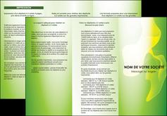 modele depliant 3 volets  6 pages  texture contexture structure MLGI23184