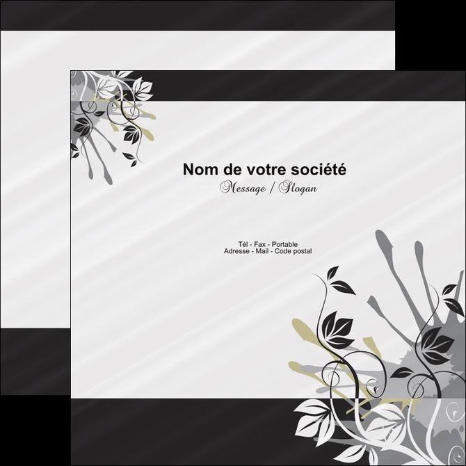 impression flyers fleuriste et jardinage fleurs fleuriste jardin MIF23446