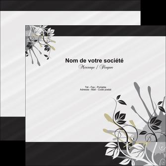 Impression flyer a faire soi meme en ligne Fleuriste & Jardinage devis d'imprimeur publicitaire professionnel Flyers Carré 12 x 12 cm