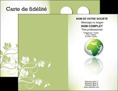imprimer carte de visite paysage nature nature verte ecologie MLGI23532
