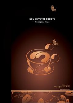 personnaliser maquette flyers bar et cafe et pub cafe cafe noir cafe delices MLGI23586