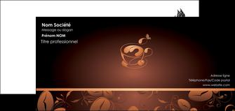 imprimer carte de correspondance bar et cafe et pub cafe cafe noir cafe delices MLGI23592