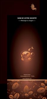 maquette en ligne a personnaliser flyers bar et cafe et pub cafe cafe noir cafe delices MLGI23598