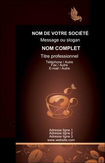 creer modele en ligne carte de visite bar et cafe et pub cafe cafe noir cafe delices MLGI23606