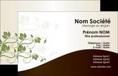 imprimer carte de visite fleuriste et jardinage feuilles feuilles vertes nature MLIP23616